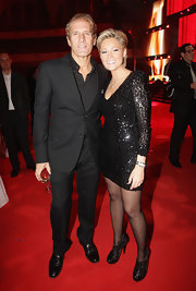 Helene Fischer looked super sophisticated in her beaded LBD at the 2011 LEA Live Entertainment Award.