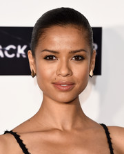 Gugu Mbatha-Raw glitzed up her lobes with a pair of geometric gold earrings by Ileana Makri.