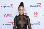 La La Anthony Beaded Dress