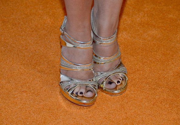 Lacey Chabert Evening Pumps