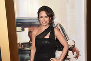 Lacey Chabert One Shoulder Dress