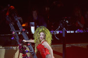 Lady Gaga performs onstage at Roseland Ballroom on March 30, 2014 in New York City.