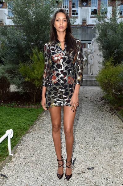 Lais Ribeiro Print Dress
