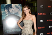 Lake Bell Strapless Dress