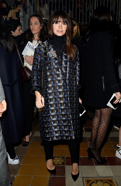Miroslava Duma at Lanvin