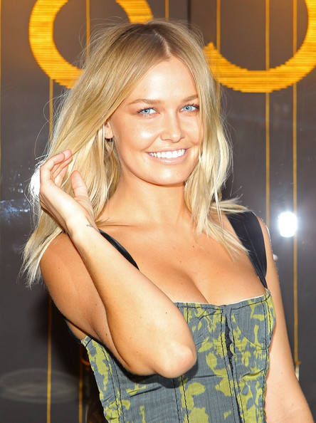 Lara Bingle Medium Layered Cut