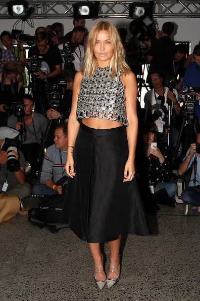 Lara Bingle Crop Top