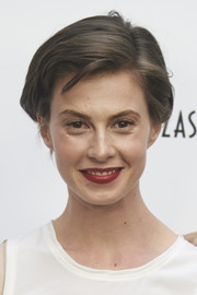 Elettra Wiedemann kept it short and sweet with this side-parted 'do at the Las Rozas Village opening.