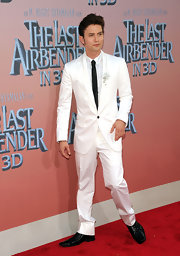 Jackson showed off his dapper style while hitting 'The Last Airbender' premiere in New York.