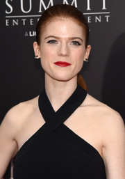 Rose Leslie kept it youthful with this ponytail at the New York premiere of 'The Last Witch Hunter.'