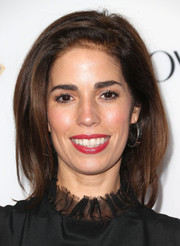 Ana Ortiz wore her hair in a chic mid-length bob when she attended the Hollywood Hot List party.