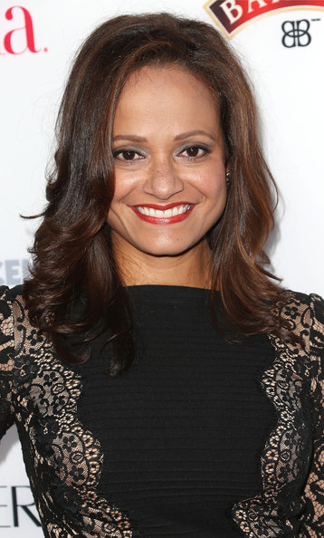 Judy Reyes styled her locks in a feathered flip for the Hollywood Hot List party.