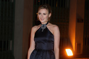 Laura Carmichael Halter Dress