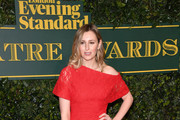 Laura Carmichael Off-the-Shoulder Dress