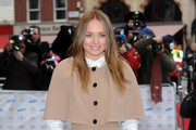 Laura Haddock Evening Coat