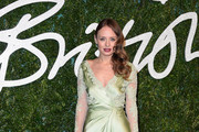 Laura Haddock Wrap Dress