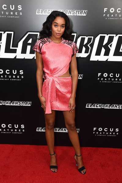 Laura Harrier Cutout Dress