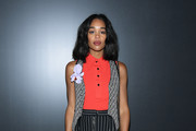 Laura Harrier Print Pants