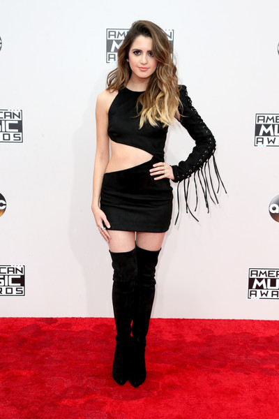 Laura Marano Over the Knee Boots