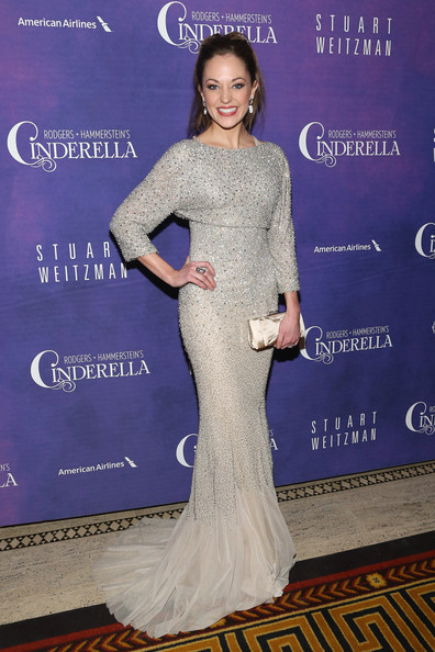 Laura Osnes Mermaid Gown