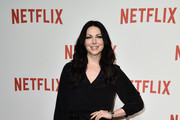 Laura Prepon Strappy Sandals