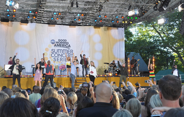 "2011 ""American Idol"" Top 11 Perform On ABC's ""Good Morning America"""