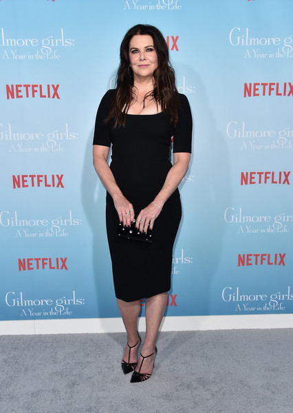 Lauren Graham Form-Fitting Dress