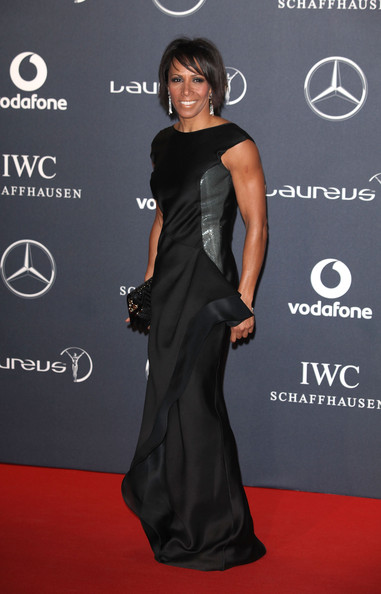 More Pics of Dame Kelly Holmes Evening Dress (1 of 2) - Dame Kelly Holmes Lookbook - StyleBistro