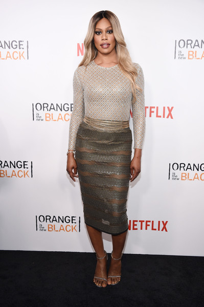 Laverne Cox Pencil Skirt