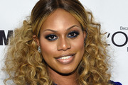 Laverne Cox Half Up Half Down
