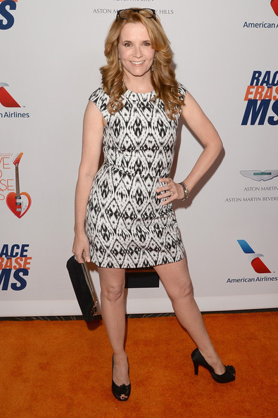 Lea Thompson Print Dress
