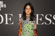 Leandra Medine Print Dress