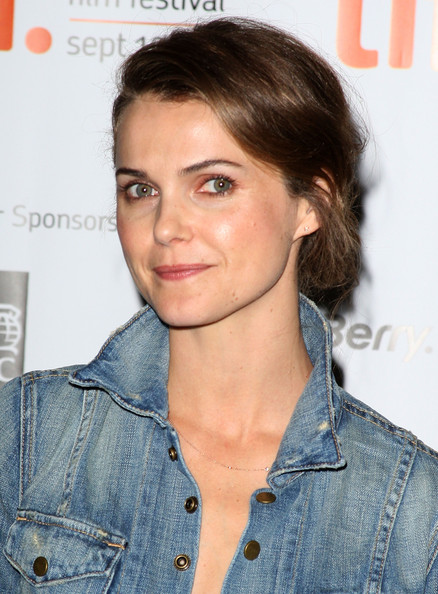 More Pics of Keri Russell Patent Leather Clutch (1 of 20) - Keri Russell Lookbook - StyleBistro