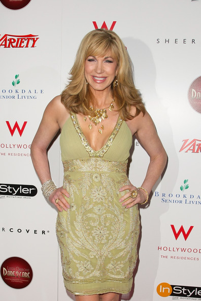 More Pics of Leeza Gibbons Long Wavy Cut with Bangs (1 of 11) - Leeza Gibbons Lookbook - StyleBistro