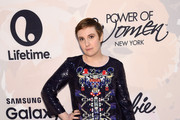 Lena Dunham Beaded Dress