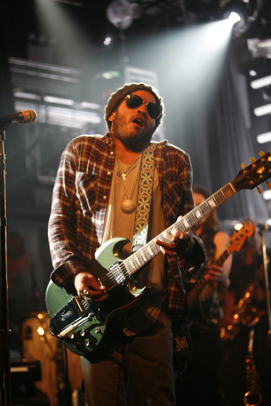 Lenny Kravitz Cross Pendant