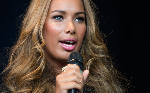 More Pics of Leona Lewis Long Wavy Cut (3 of 32) - Long Wavy Cut Lookbook - StyleBistro