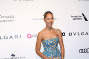 Leona Lewis Strapless Dress