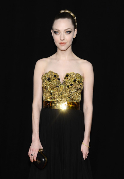 More Pics of Amanda Seyfried Beaded Dress (1 of 17) - Amanda Seyfried Lookbook - StyleBistro