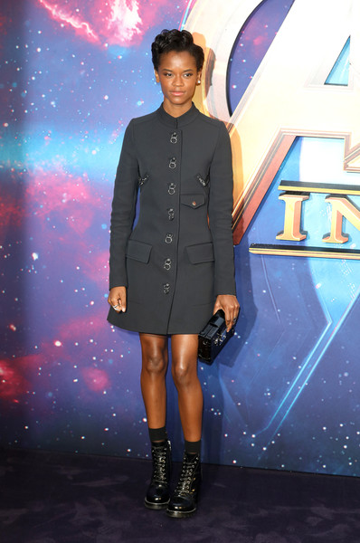 Letitia Wright Mini Dress