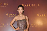 Li Bingbing Beaded Dress