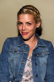 Busy Philipps wore her blond locks in a cute braided updo at the Young Literati 4th Annual benefit.