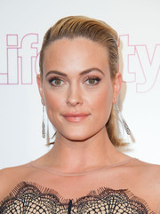 Peta Murgatroyd sported a short, slicked-back hairstyle at the Life & Style Weekly 10th anniversary party.