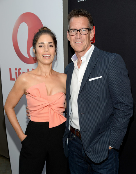 More Pics of Ana Ortiz Hair Knot (1 of 4) - Ana Ortiz Lookbook - StyleBistro [devious maids,tv guide,event,suit,premiere,white-collar worker,formal wear,smile,ana ortiz,mewe,los angeles,ca,westwood,lifetime,stk,season four premiere]