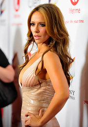 Jennifer Love Hewitt hit the red carpet for the launch of 'The Client List' wearing her ultra-long mane in voluminous tousled waves.