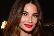 Lily Aldridge Red Lipstick