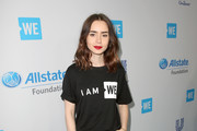 Lily Collins Canvas Sneakers