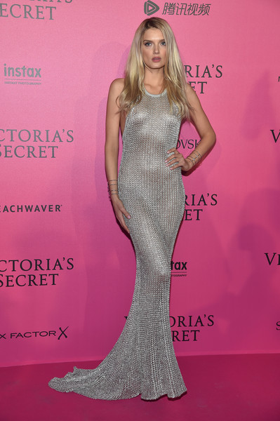 Lily Donaldson Fishtail Dress