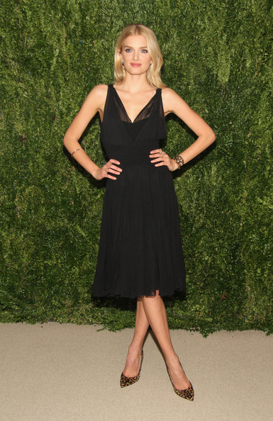 Lily Donaldson Little Black Dress