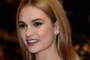 Lily James Long Center Part
